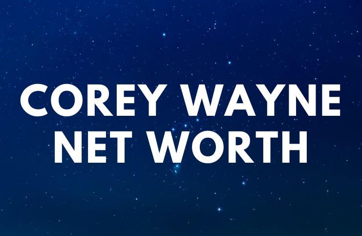 Corey Wayne - Net Worth, Biography, Books age