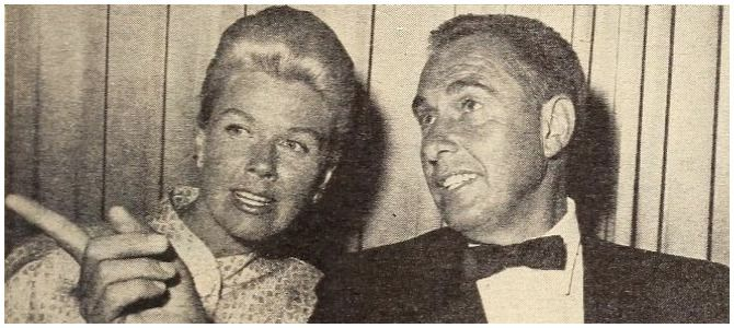 Doris Day with her husband, Marty Melcher