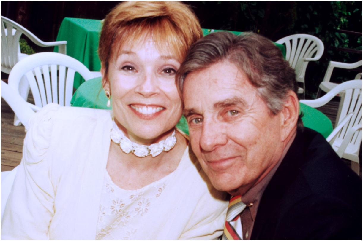 Pat Harrington Jr. and his wife Sally Cleaver