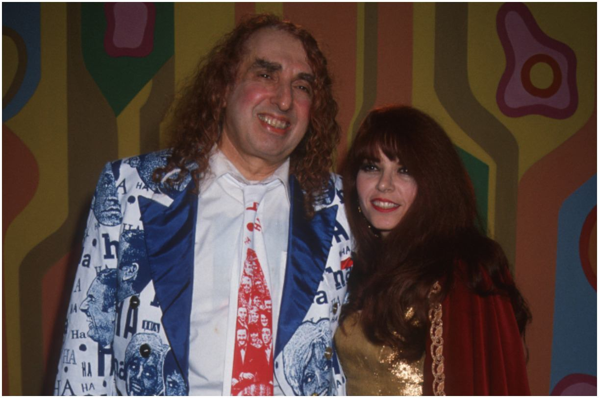 Tiny Tim with his wife Jan Alweiss