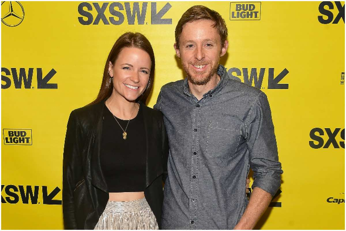 Tommy Caldwell with his wife Rebecca Pietsch