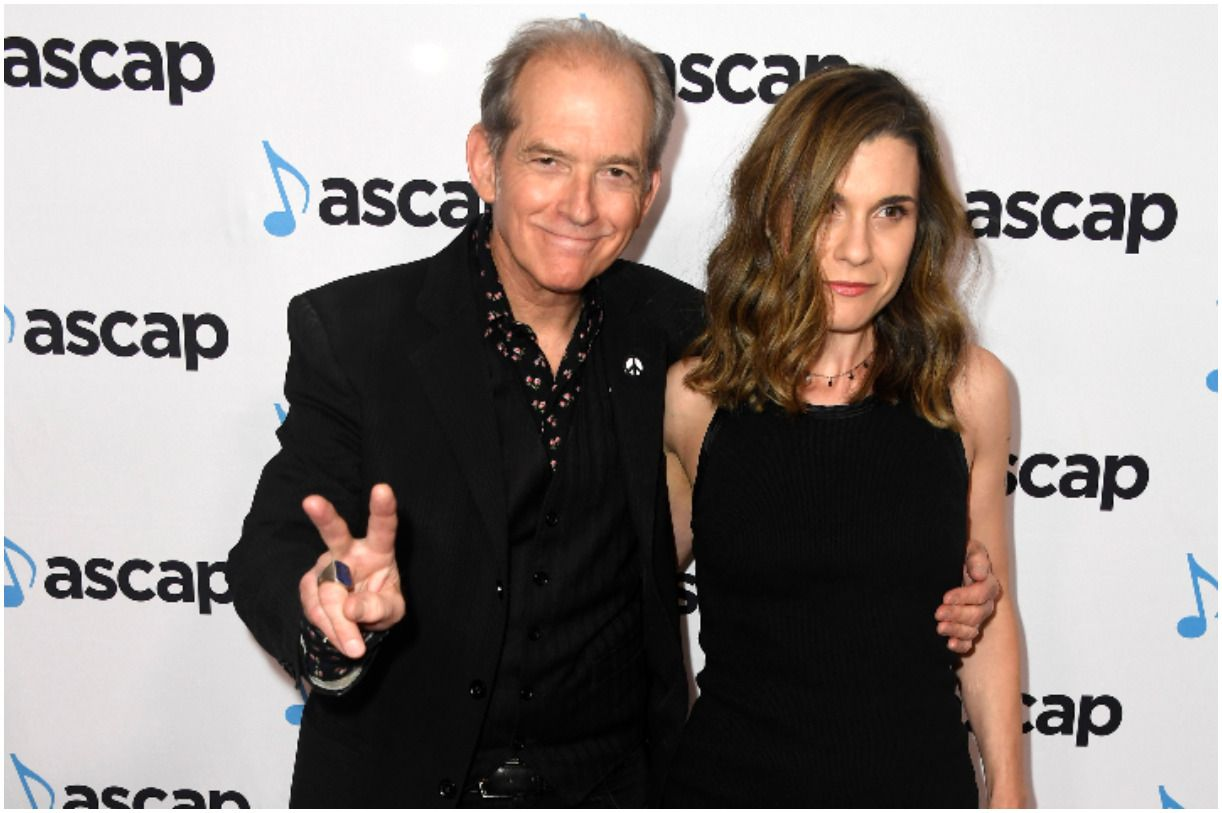 Benmont Tench and his wiife Alice Carbone