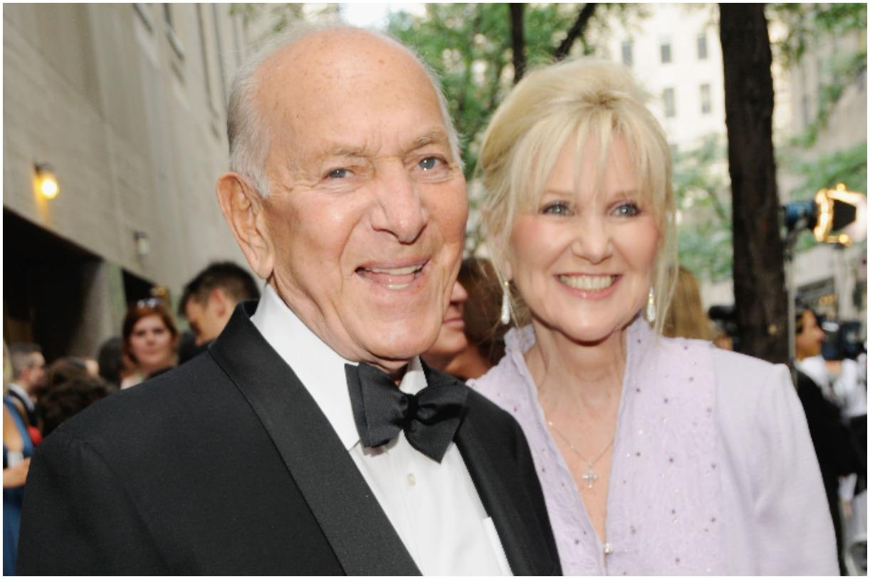 Jack Klugman with his wife Peggy Crosby