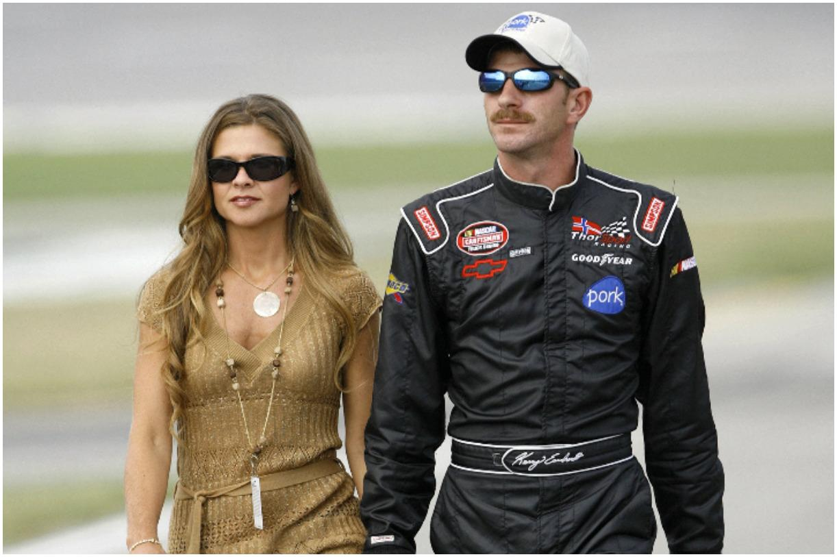 Kerry Earnhardt with his wife Rene