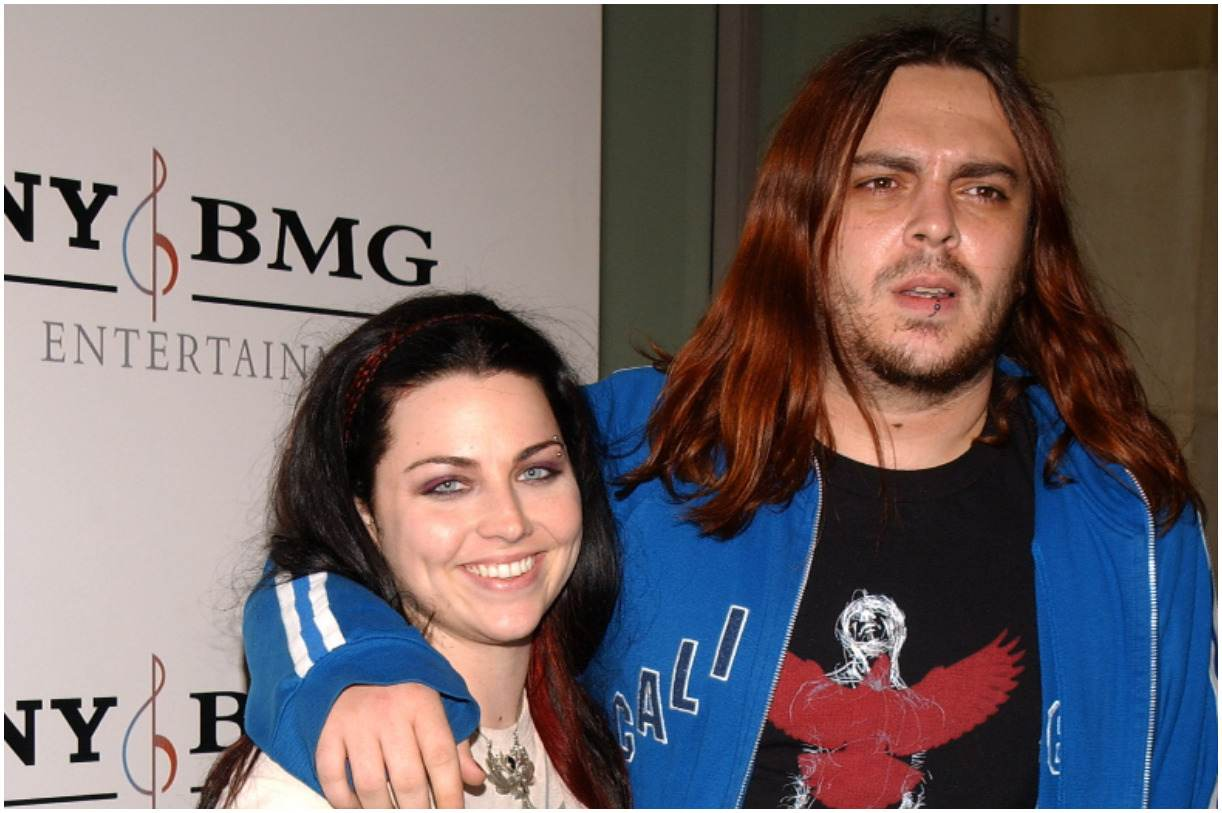 Shaun Morgan with his girlfriend Amy Lee