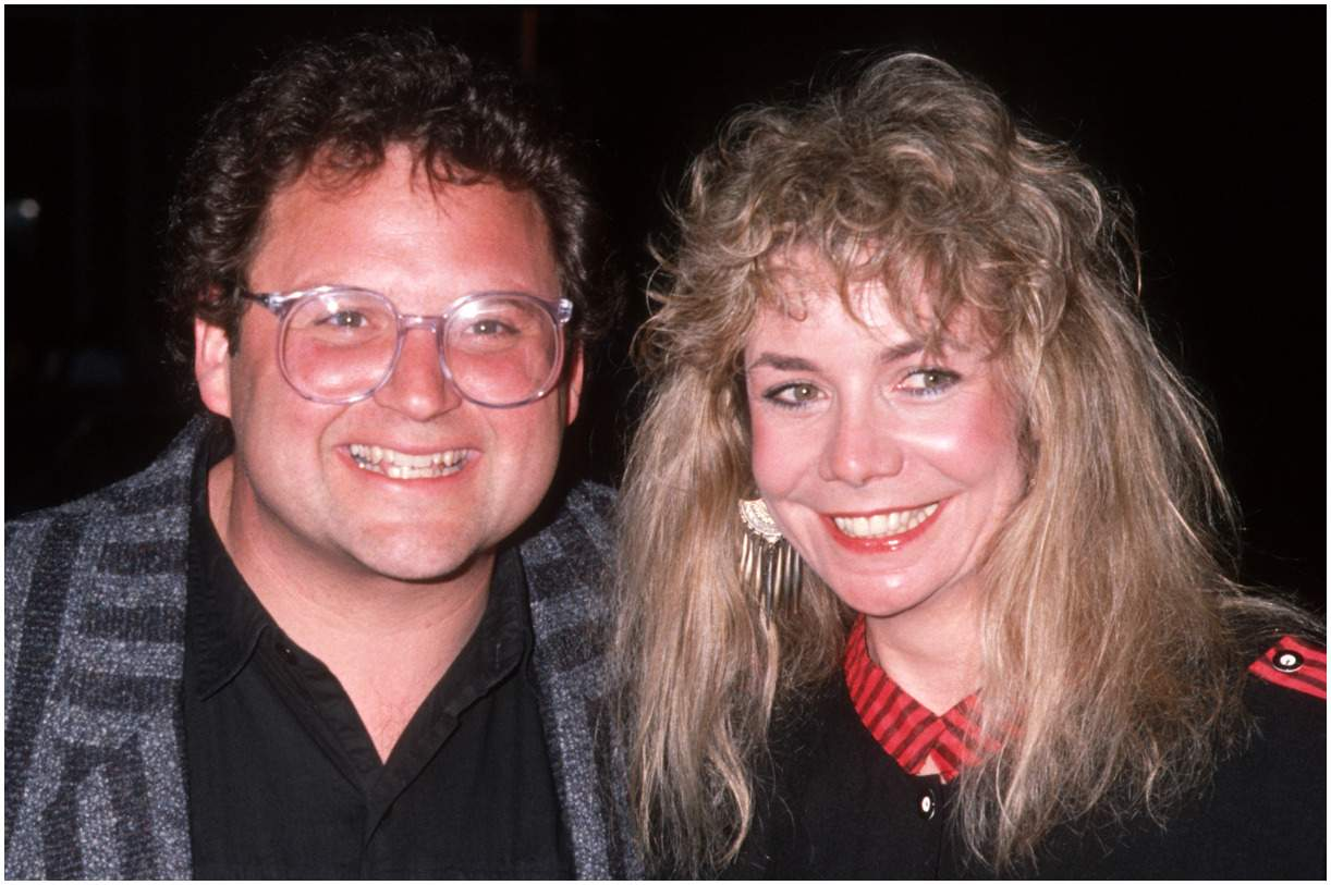 Stephen Furst and his wife Lorraine Wright