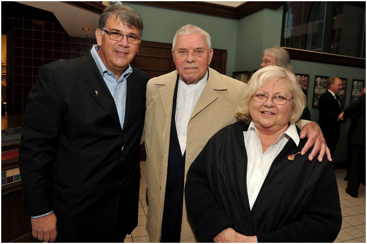 Tom T. Hall and his wife Dixie Hall