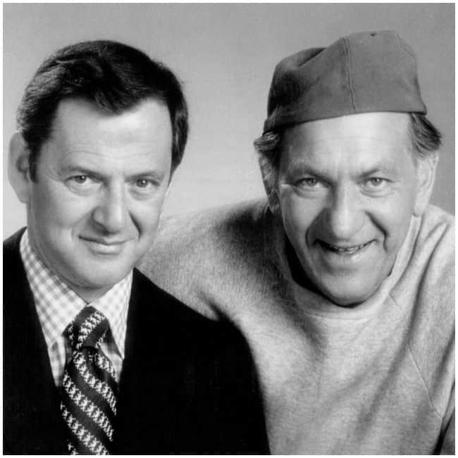 Tony Randall and Jack Klugman Odd Couple