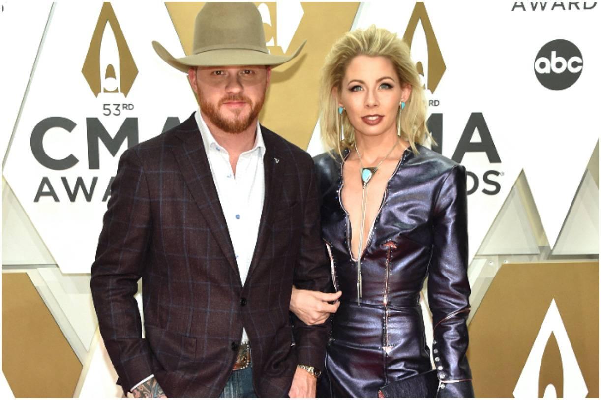 Cody Johnson and his wife Brandi johnson