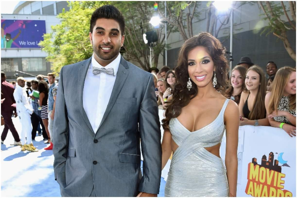 Farrah Abraham and her boyfriend Simon Saran