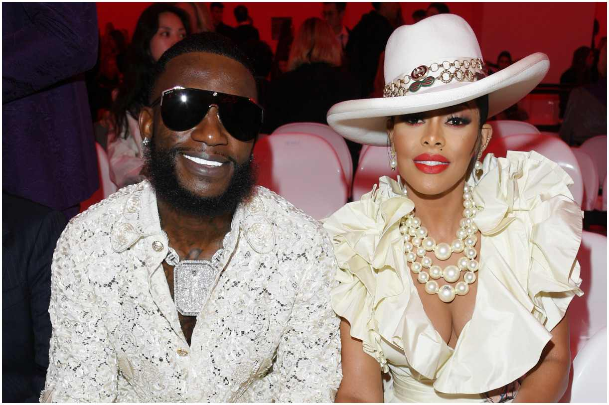 Gucci Mane and his wife Keyshia Ka'oir