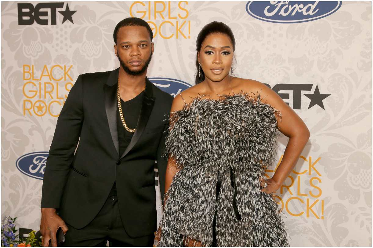 Remy Ma and her husband Papoose