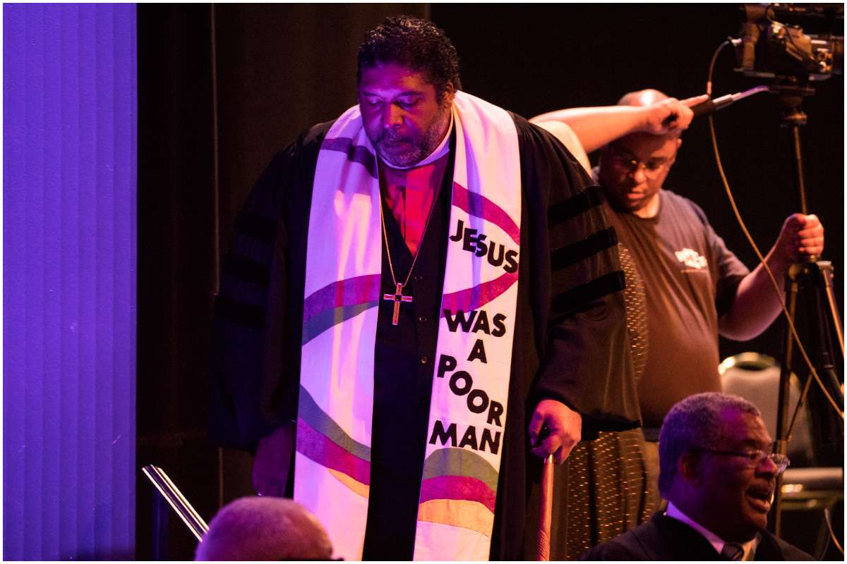 Rev. Dr. William J. Barber II wife