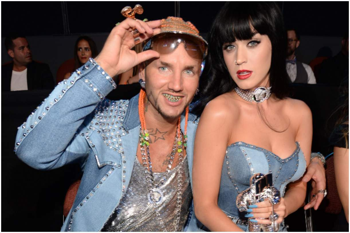 Riff Raff and his girlfriend Katy Perry