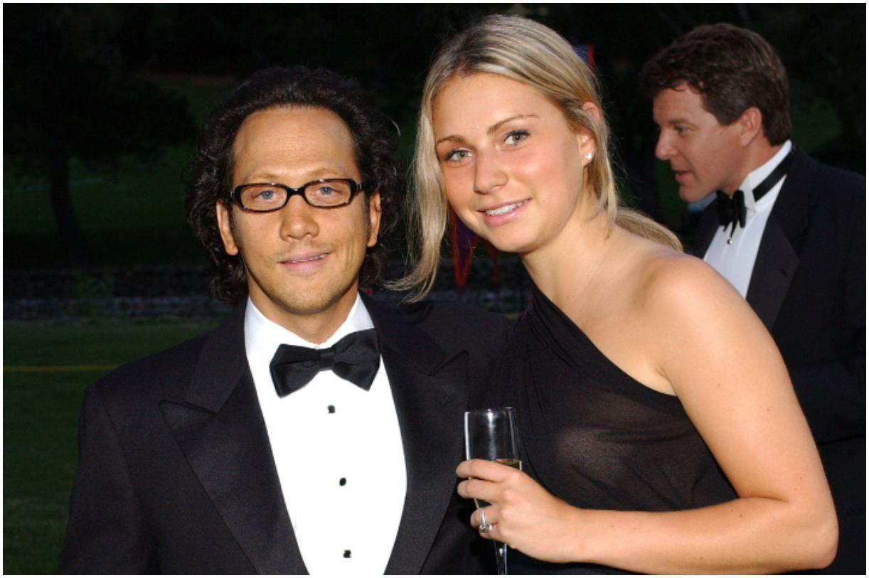 Rob Schneider and his wife Helena Schneider