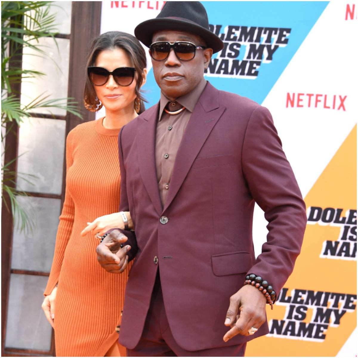 Wesley Snipes and his wife Nakyung Park