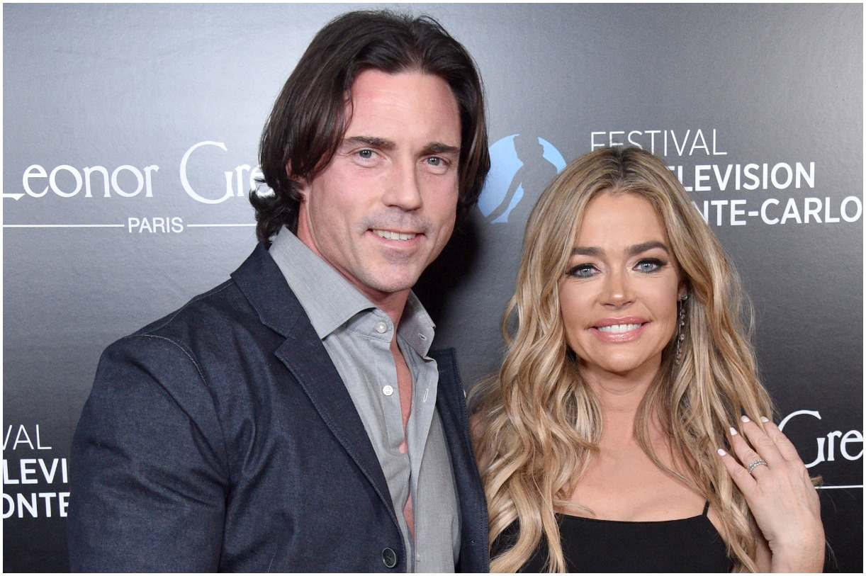 Aaron Phypers and his wife Denise Richards