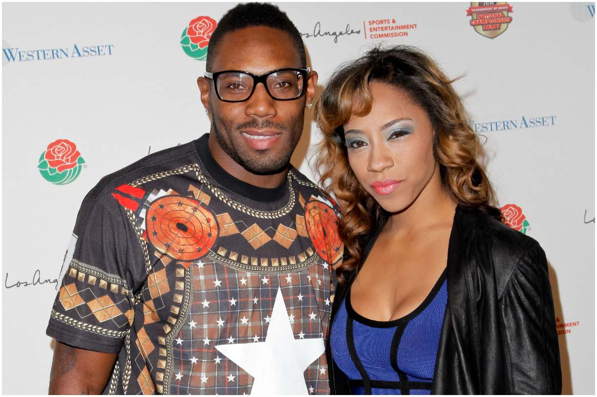 Antonio Cromartie and his wife Terricka Cromartie