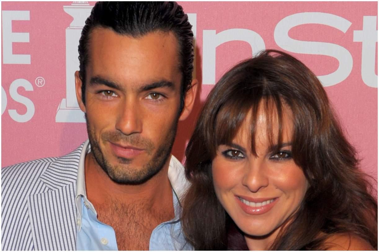 Kate del Castillo and her husband Aarón Díaz