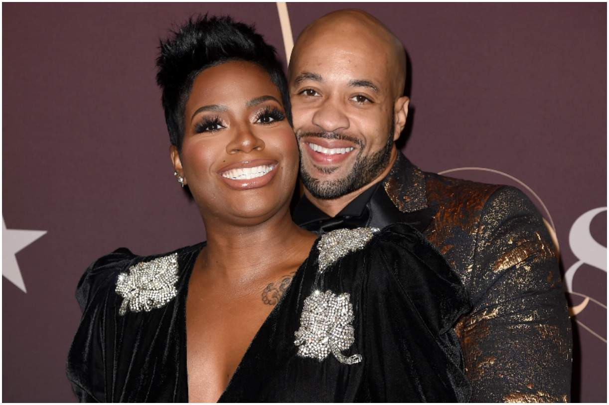Kendall Lamar Taylor with his wife Fantasia Barrino