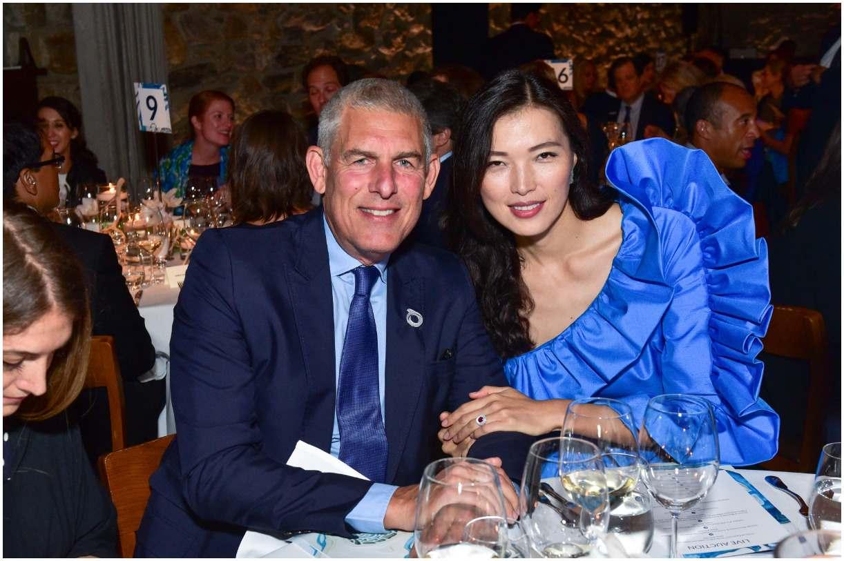 Lyor Cohen and his wife Xin Li