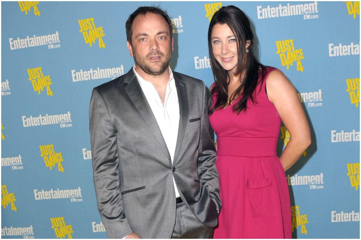 Mark Sheppard and his wife Jessica