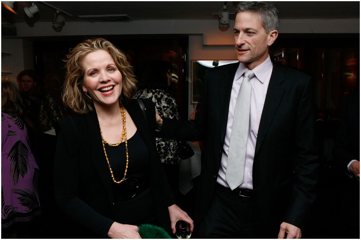 Renée Fleming and her husband Tim Jessell