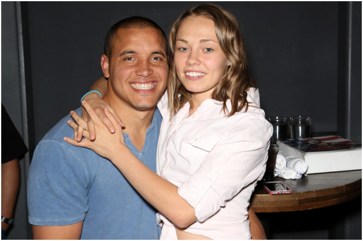 Rose Namajunas and her fiance Pat Barry