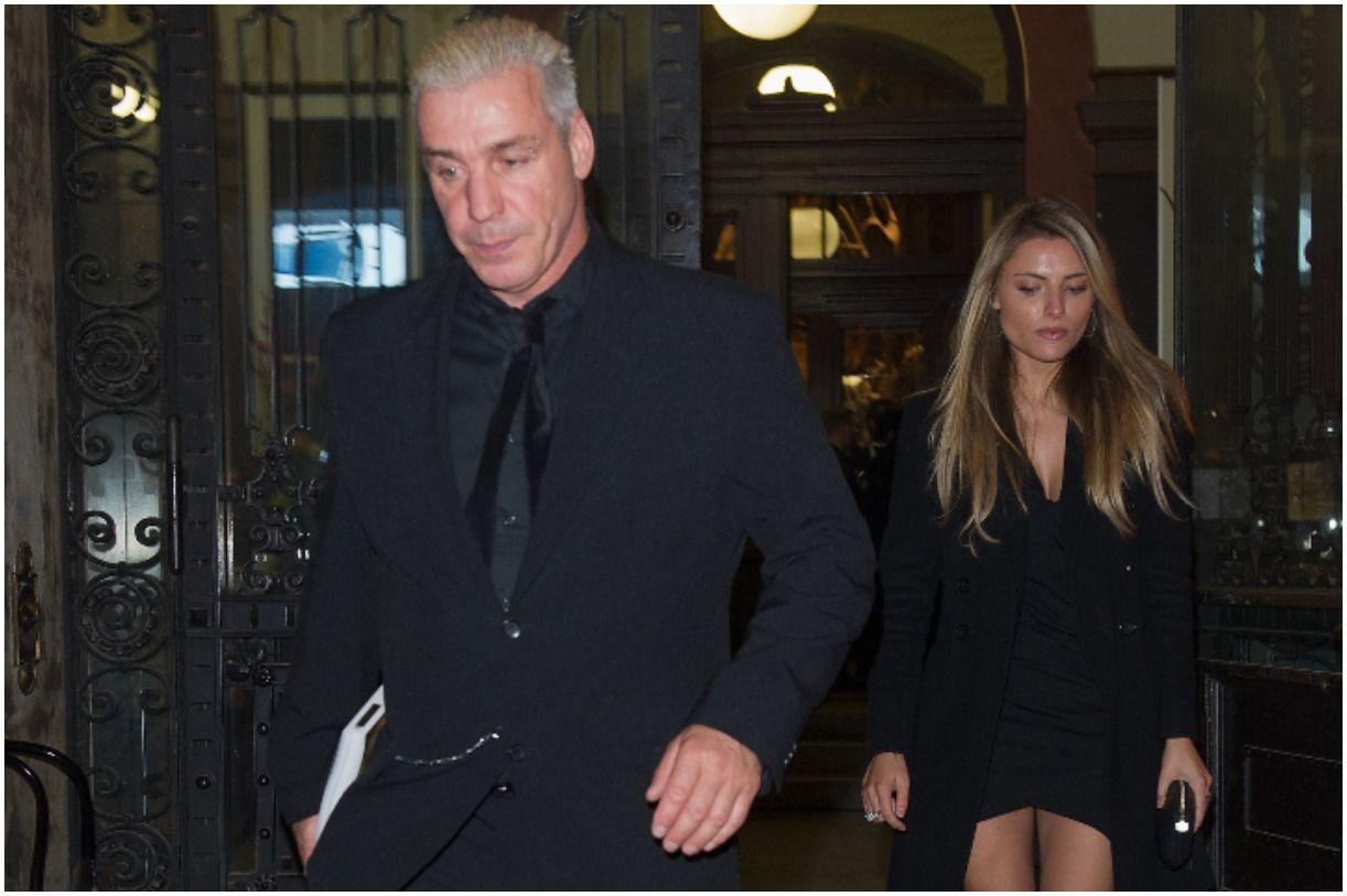 Till Lindemann and his girlfriend Sophia Thomalla