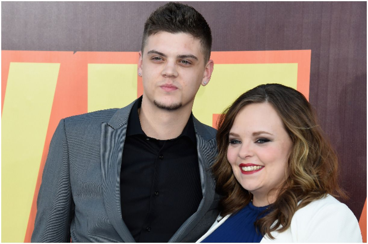 Tyler Baltierra and his wife Catelynn Lowell