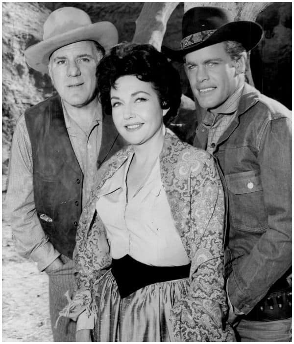 William Bendix, Lynn Bari, and Doug McClure