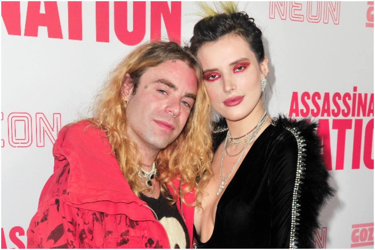 Bella Thorne and her boyfriend Mod Sun