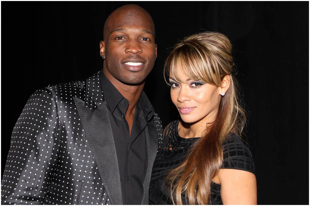 Chad Johnson and his wife Evelyn Lozada