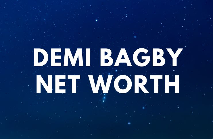 Demi Bagby - Net Worth, Biography, Accident age