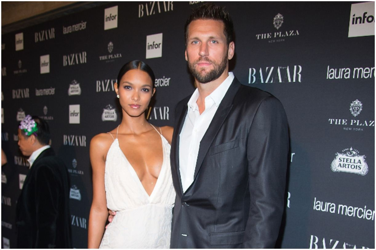Lais Ribeiro with her boyfriend Jared Homan