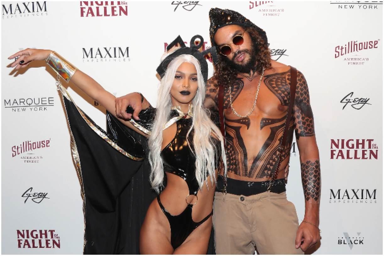 Lais Ribeiro with her fiance Joakim Noah