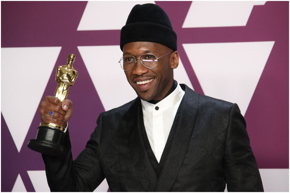 Mahershala Ali, winner of Best Supporting Actor for Green Book