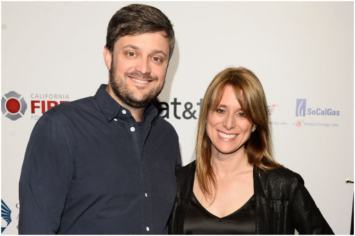 Nate Bargatze and his wife Laura