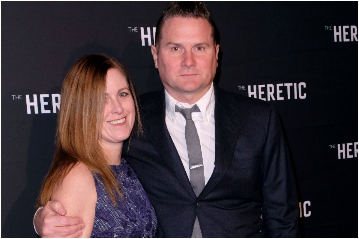 Rob Bell and his wife Kristen Bell
