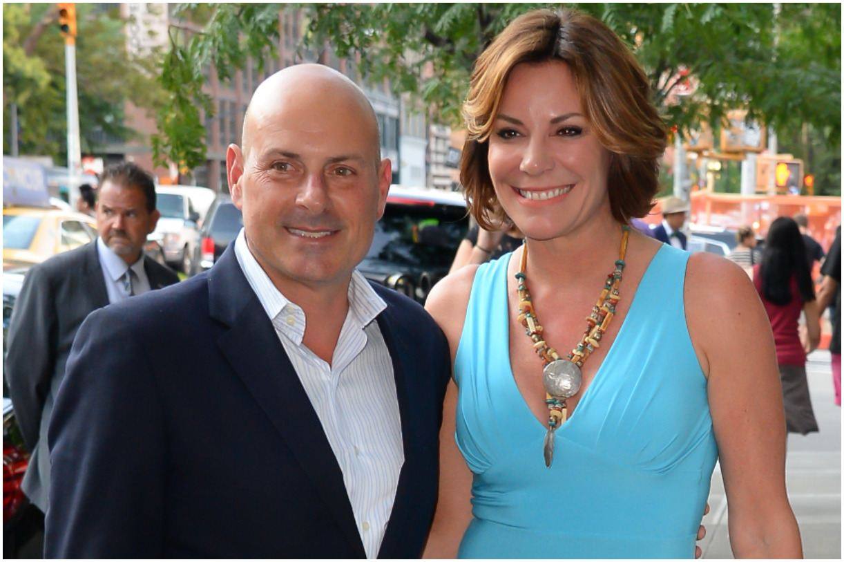Tom D'Agostino Jr. and his wife Luann de Lesseps