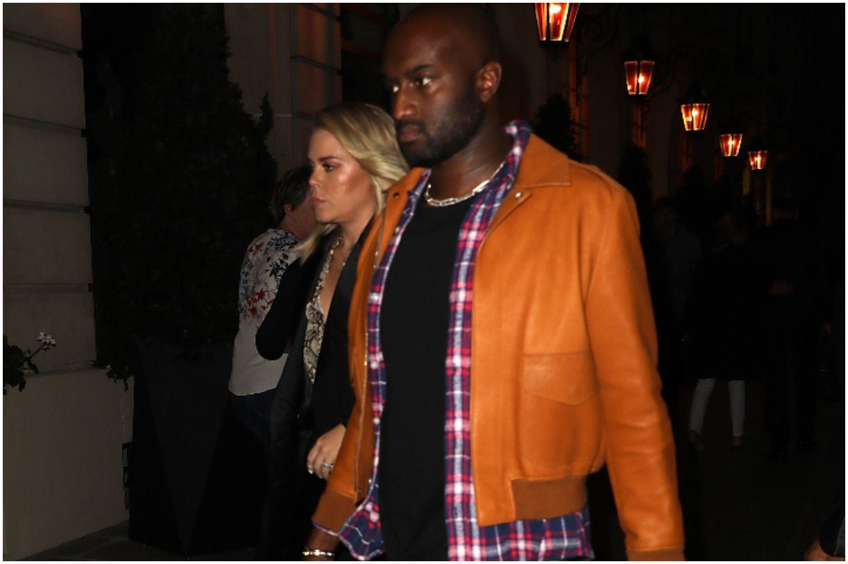 Virgil Abloh and his wife Shannon Sundberg