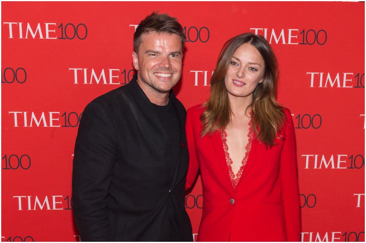 Bjarke Ingels with his girlfriend Ruth Otero