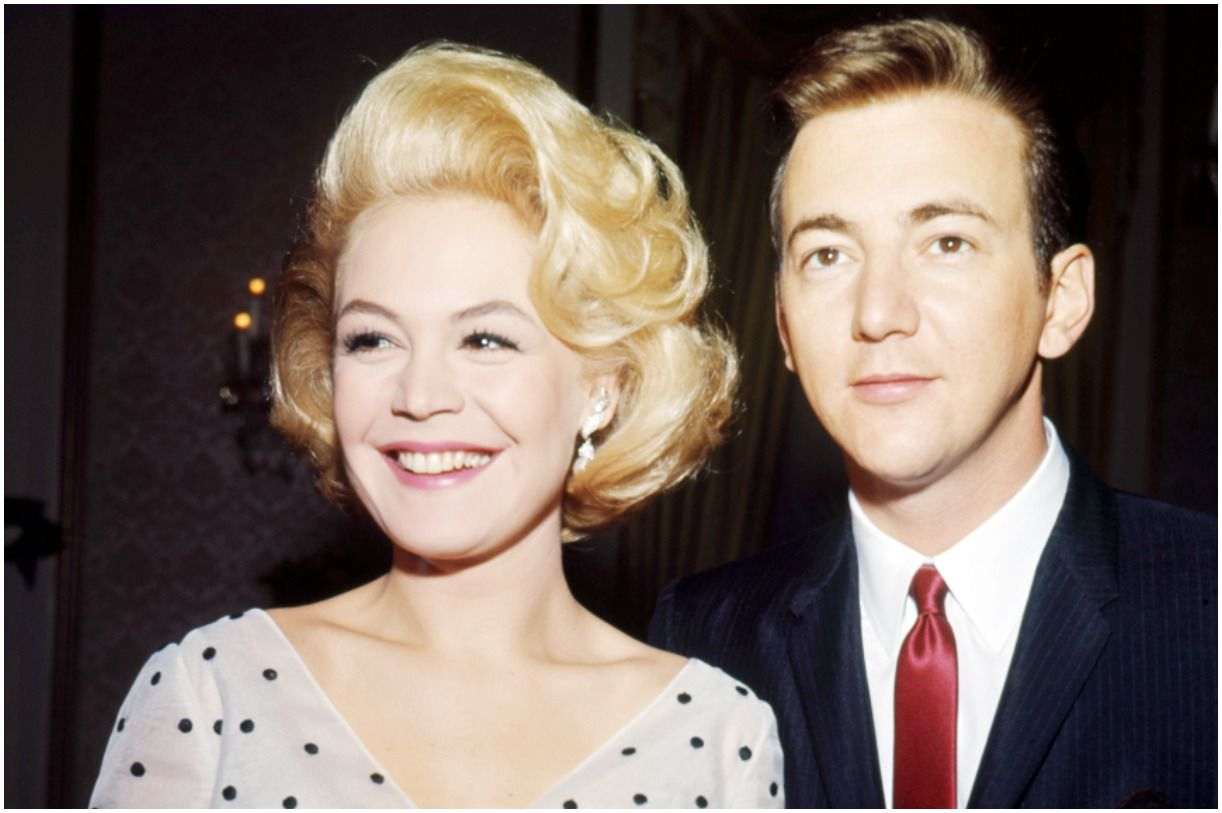 Bobby Darin and his wife Sandra Dee