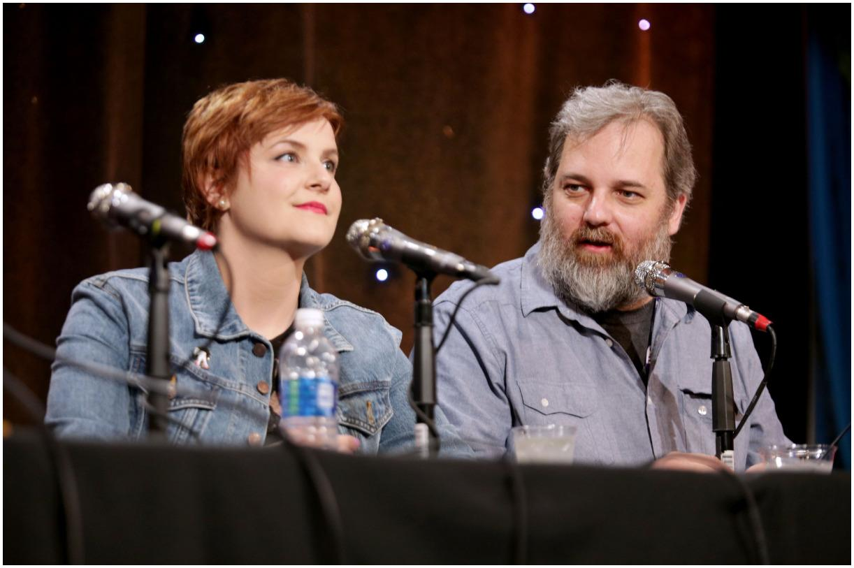 Dan Harmon and his wife Erin McGathy
