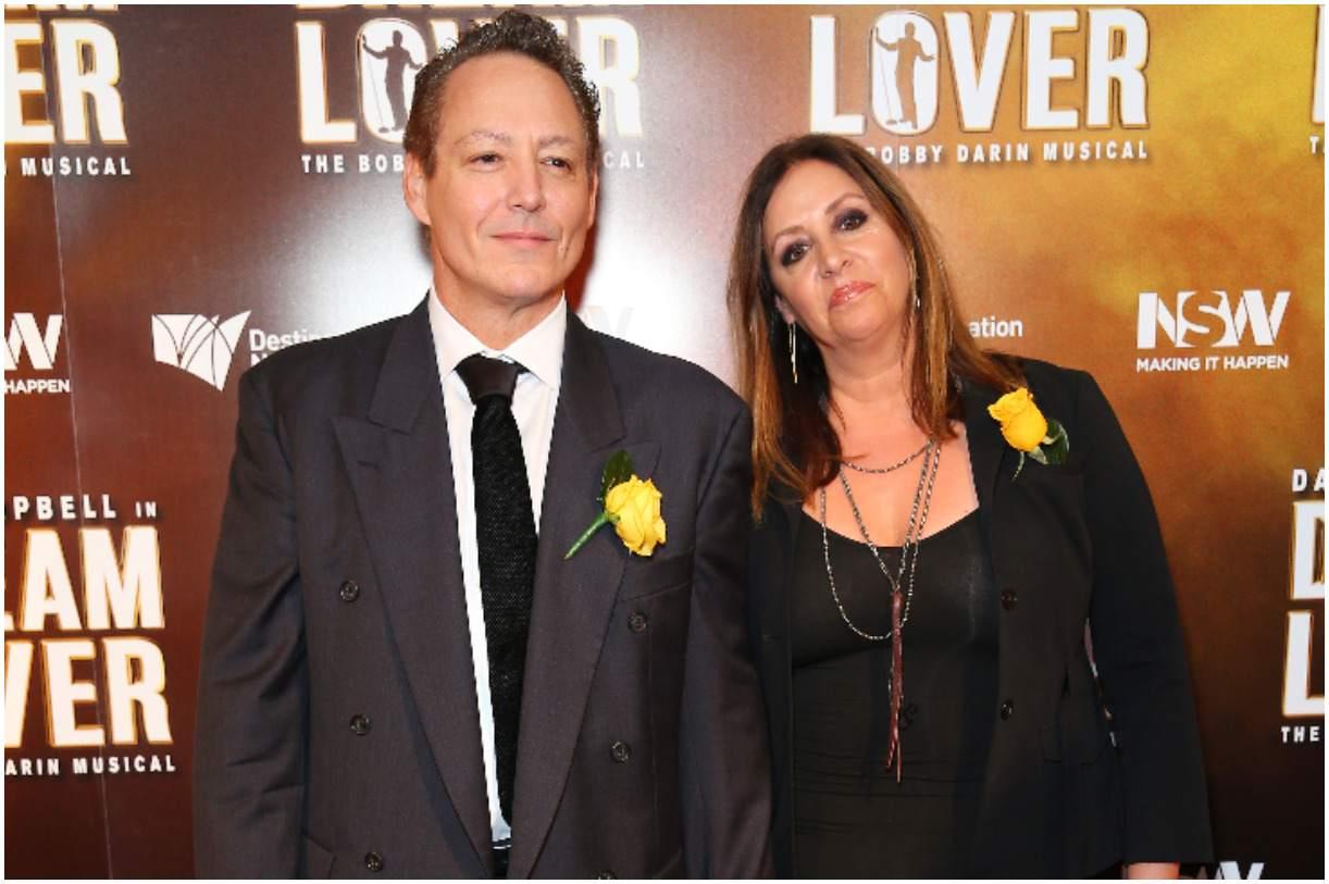 Dodd Darin with his wife Audrey Tannenbaum