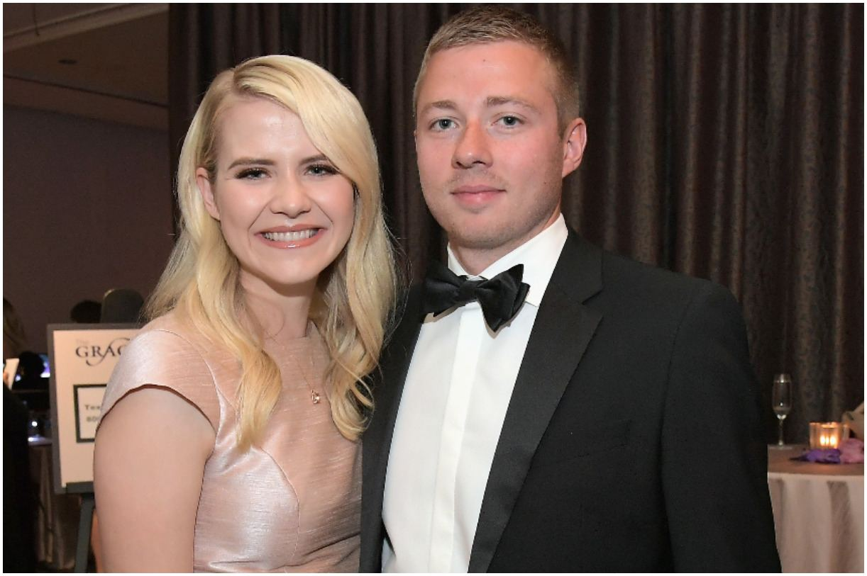 Elizabeth Smart and her husband Matthew Gilmour