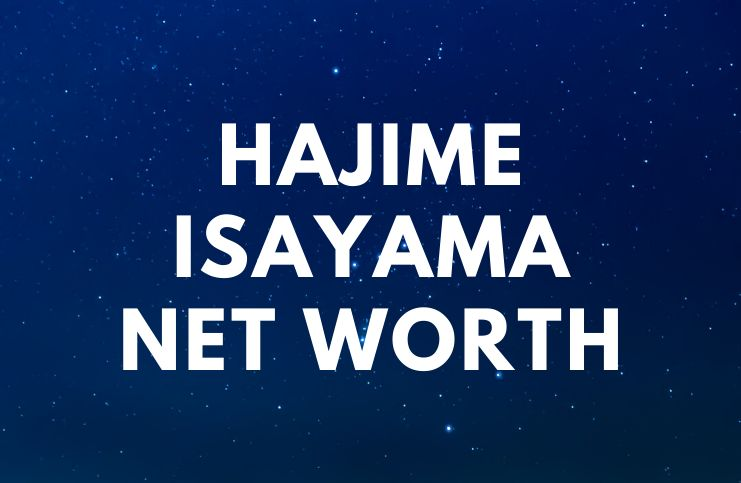 Hajime Isayama - Net Worth, Bio, Wife, Attack on Titan age