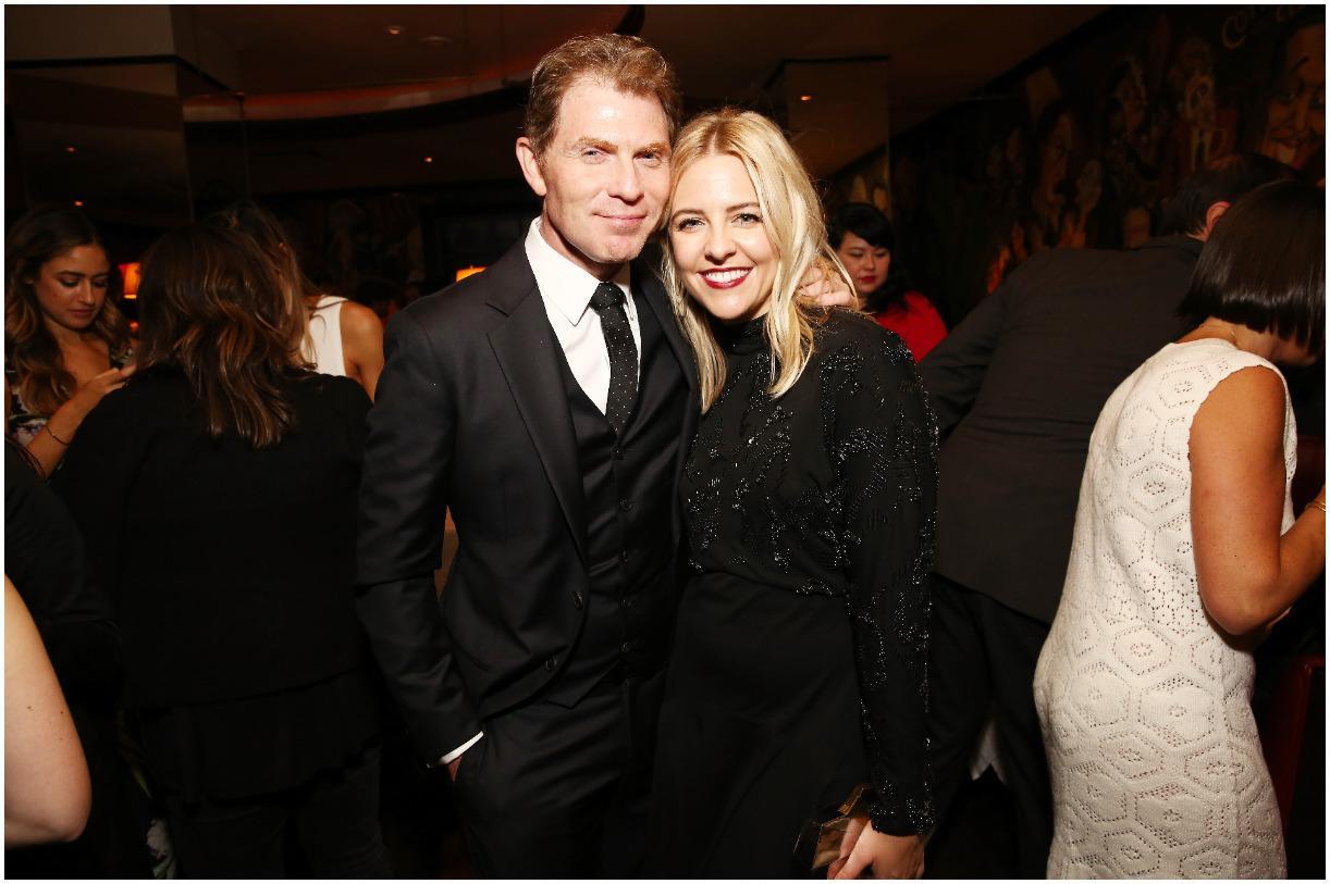 Heléne Yorke with her boyfriend Bobby Flay
