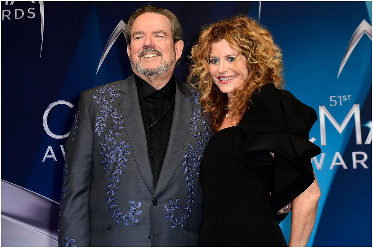 Jimmy Webb and his wife Laura Savini