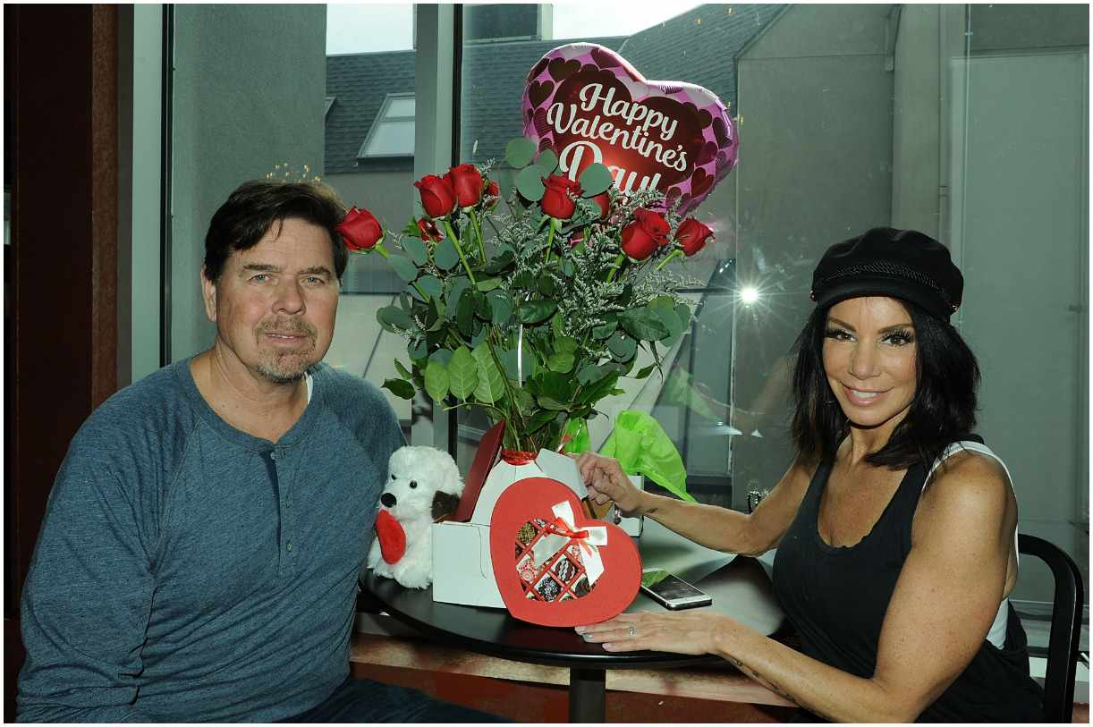 Marty Caffrey and his wife Danielle Staub